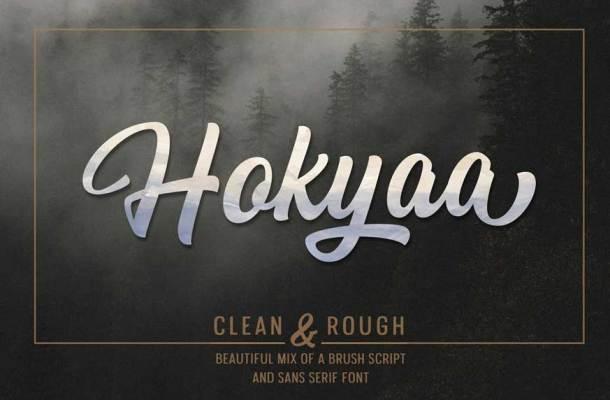 Hokyaa Font