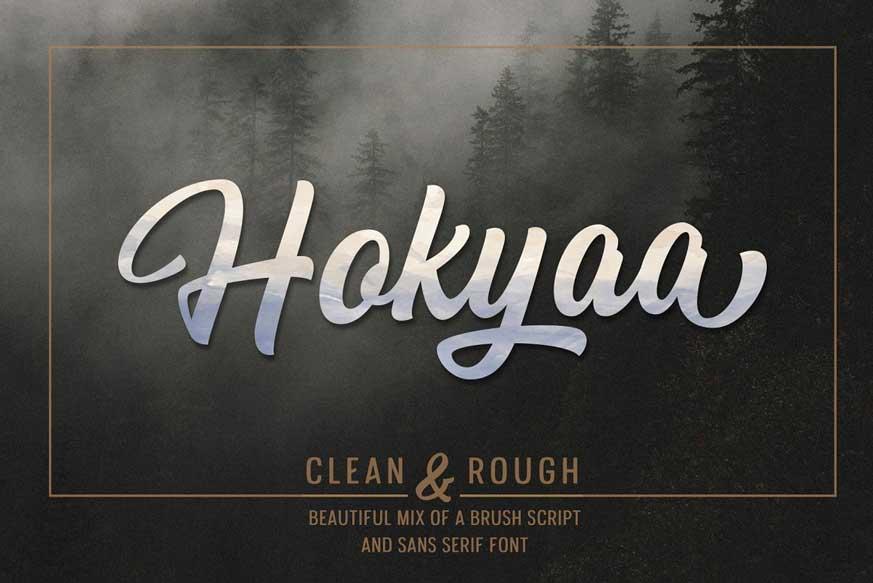 Hokyaa Font-1