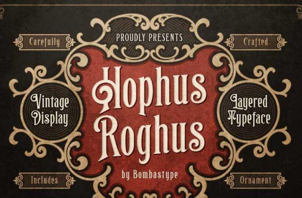 Hophus Roghus Font