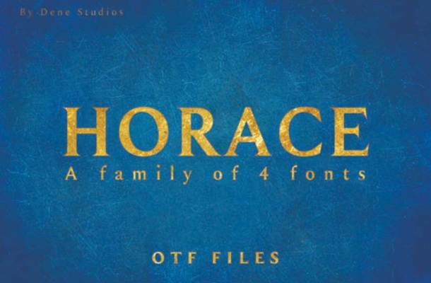 Horace Font