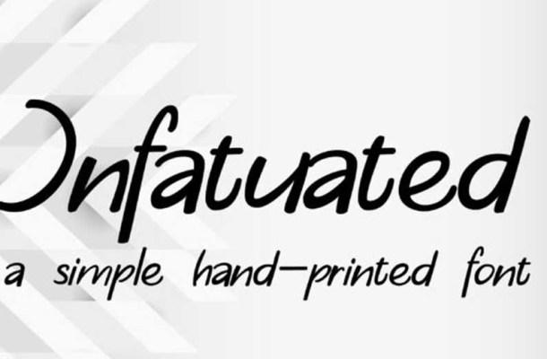 Infatuated Font