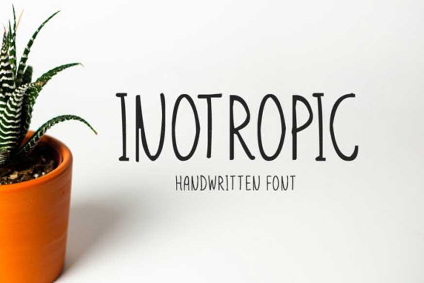 Inotropic Font-1