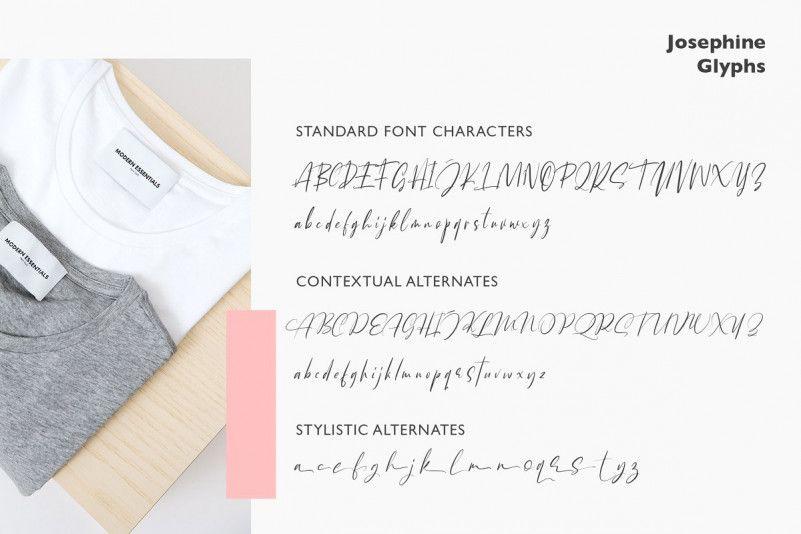 Josephine Script Font-3