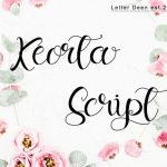 Keorta Script Font