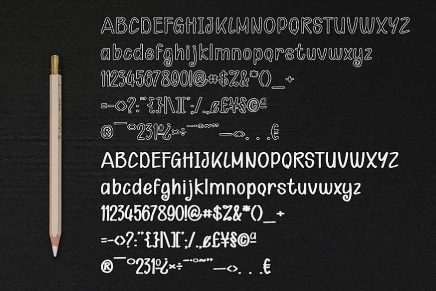 Kid Knowledge Font-4