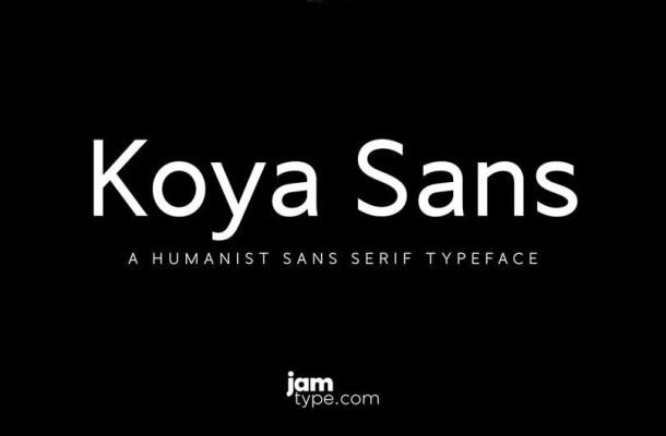 Koya Sans Font Family