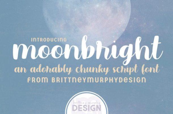 Moonbright Handwritten Font