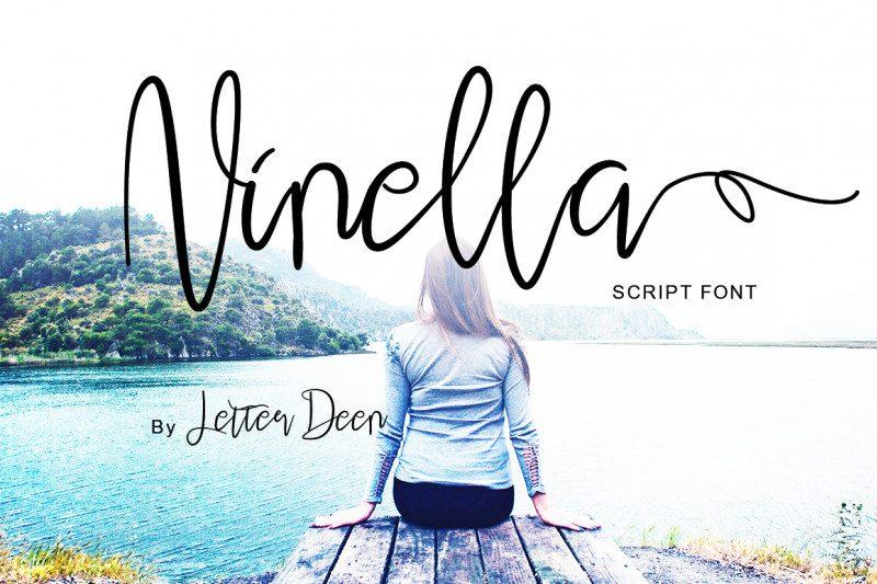 Ninella Script Font-1