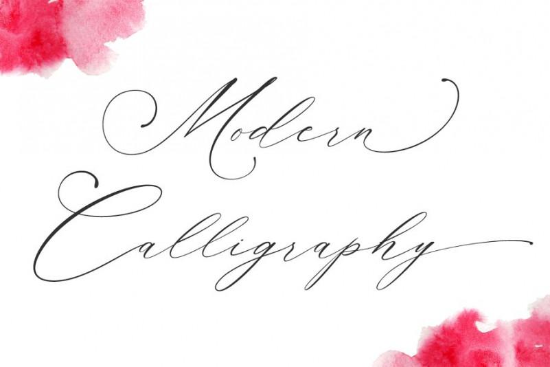 Planolla Calligraphy Font-2