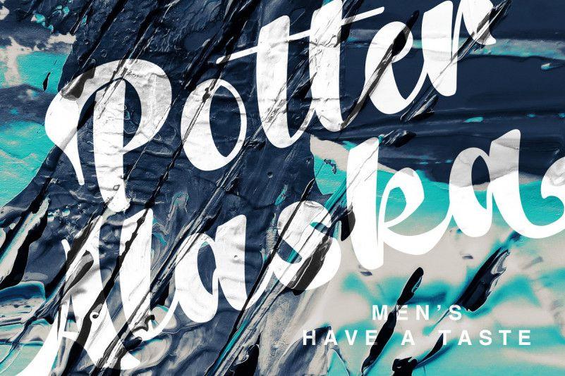 Potter Alaska Font-1