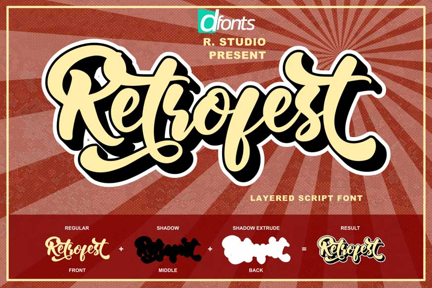 Retrofest Font-1