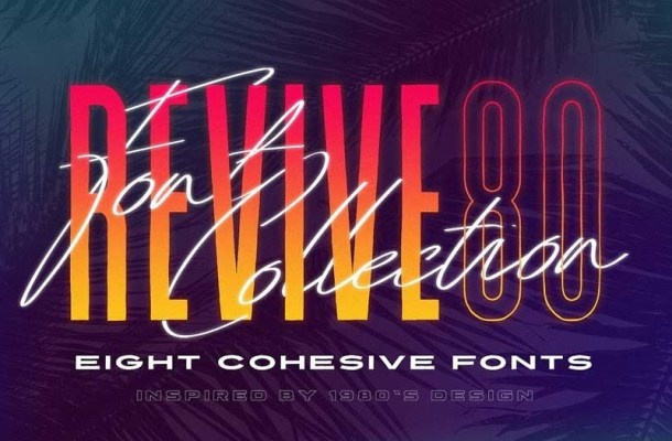 Revive 80 Font Pack