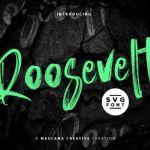 Roosevelt SVG Brush Font
