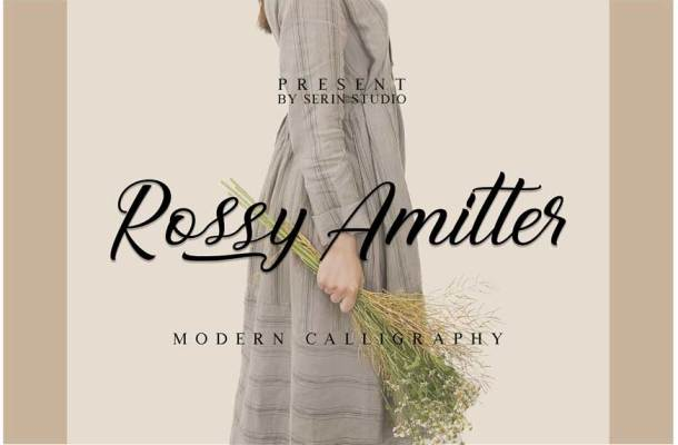 Rossy Amitter Font