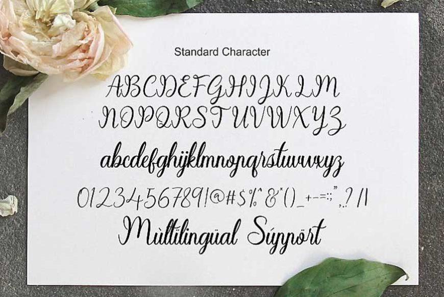 Sayidah Lovely Script Font-3