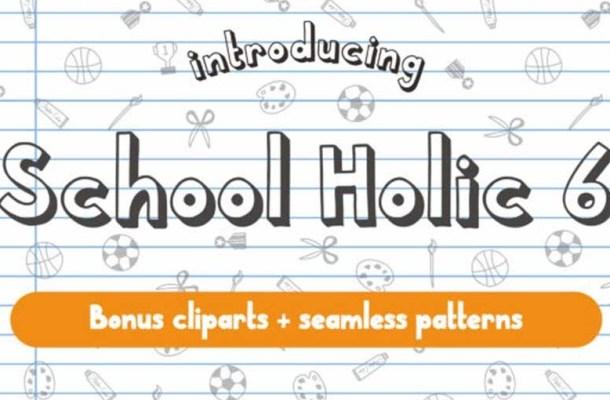 School Holic Font