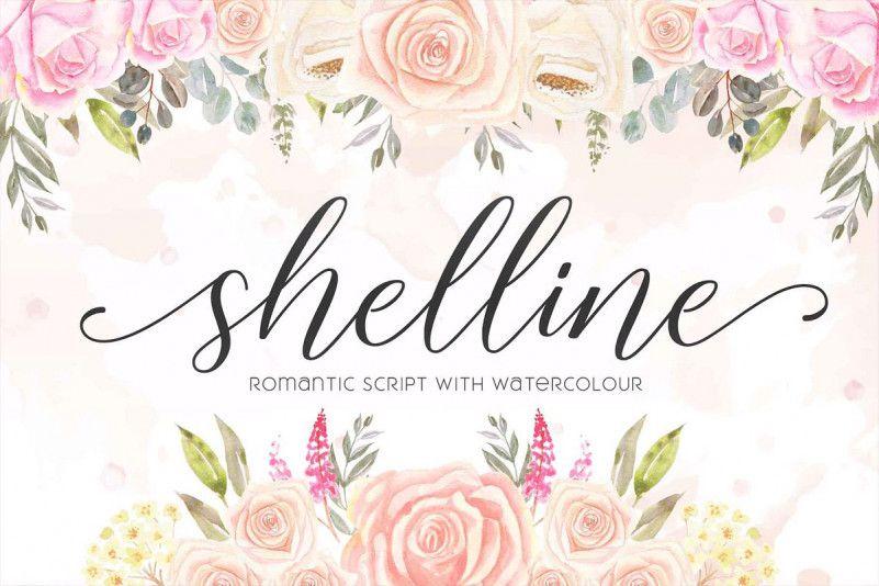 Shelline Script Font-1