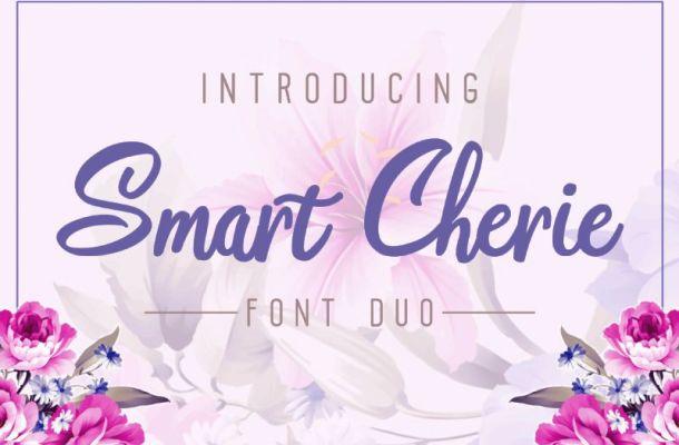Smart Cherie Font Duo
