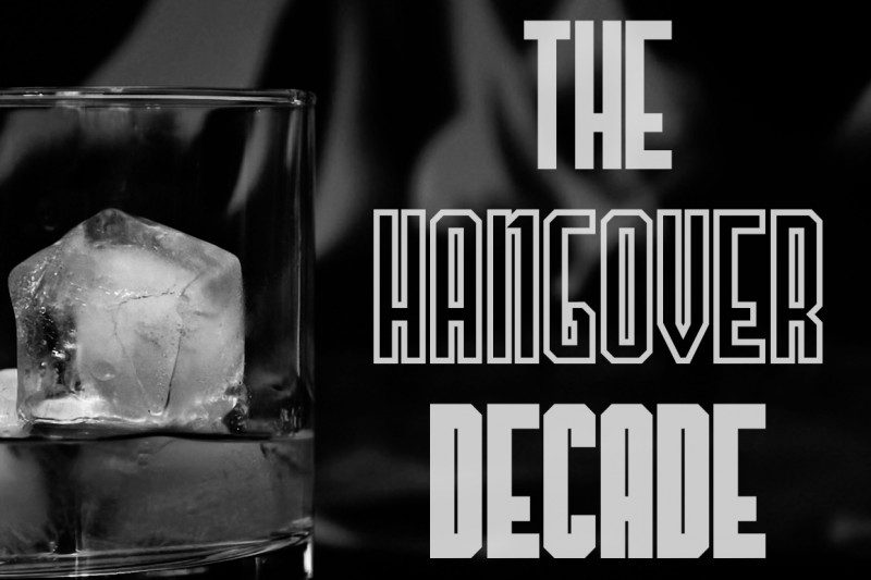 The Hangover Decade Font-1