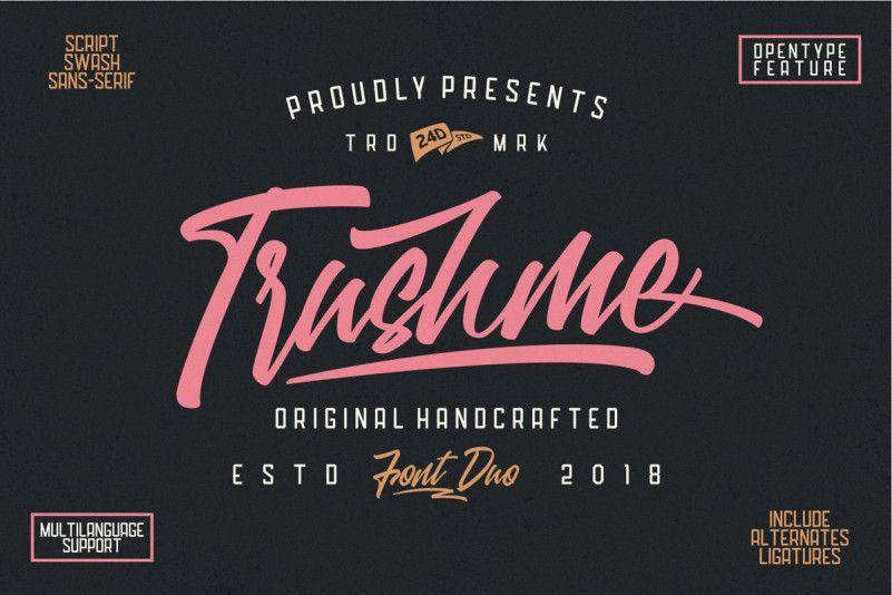 Trushme Font Duo-1