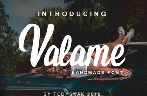 Valame Font