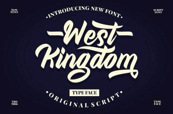 West Kingdom Font