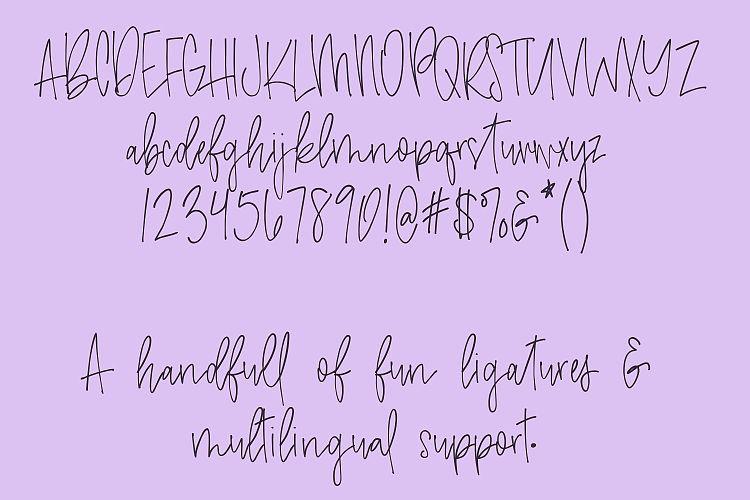 Amethyst Handwritten Font-3