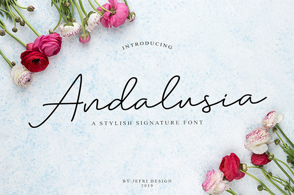 Andalusia Handwritten Font