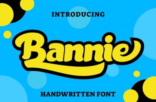 Bannie Handwritten Font