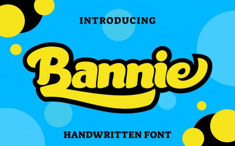 Bannie Handwritten Font-1