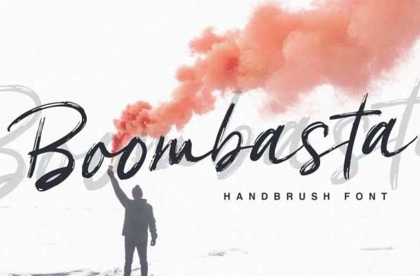 Boombasta Handbrush Font