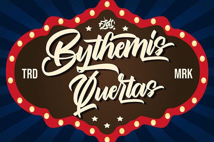 Bythemis Quertas Script Font-1