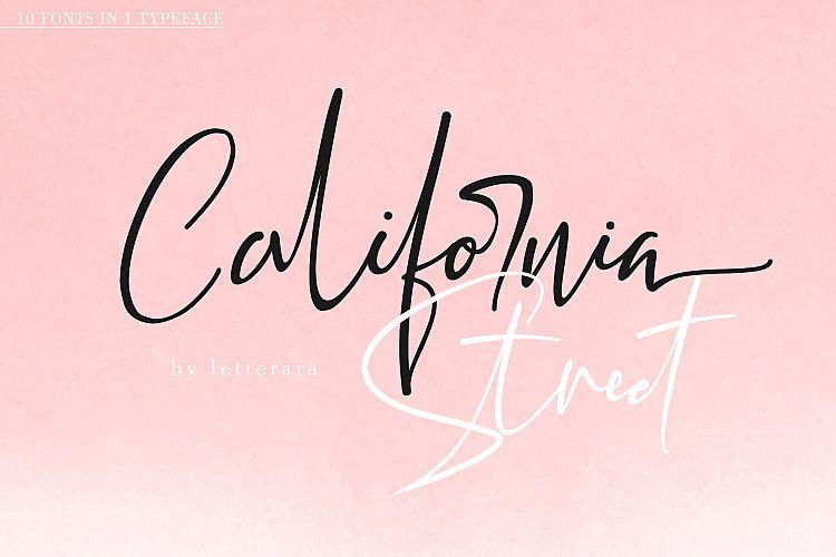 California Street Script Font-1