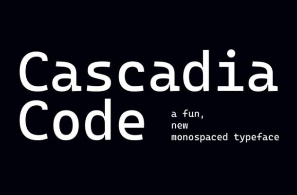 Cascadia Code Font