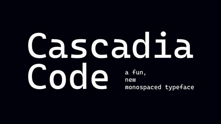 Cascadia Code Font-1