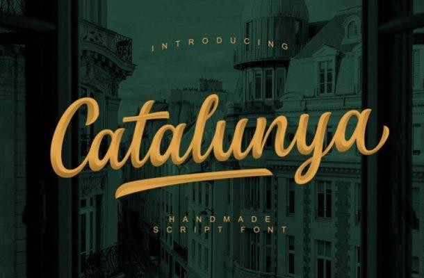 Catalunya Script Font