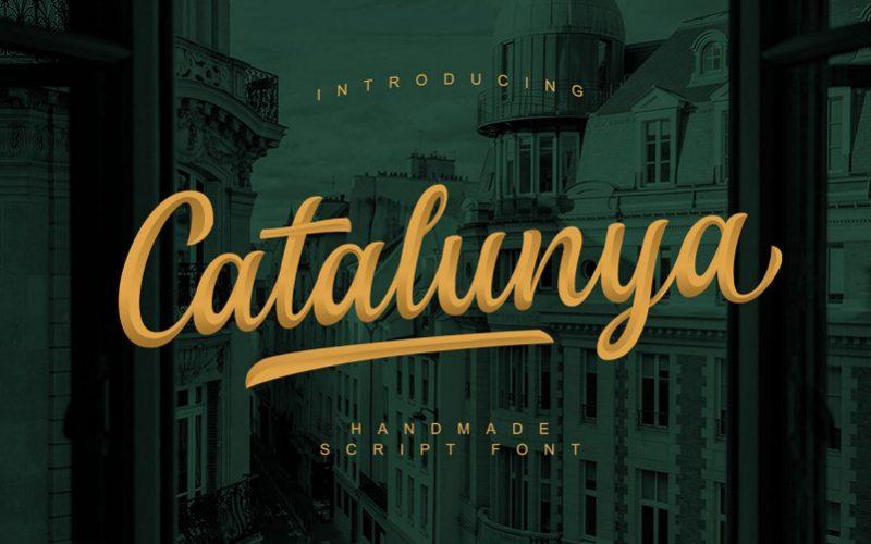Catalunya Script Font-1
