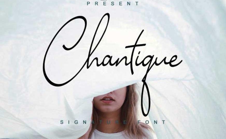 Chantique Font-1