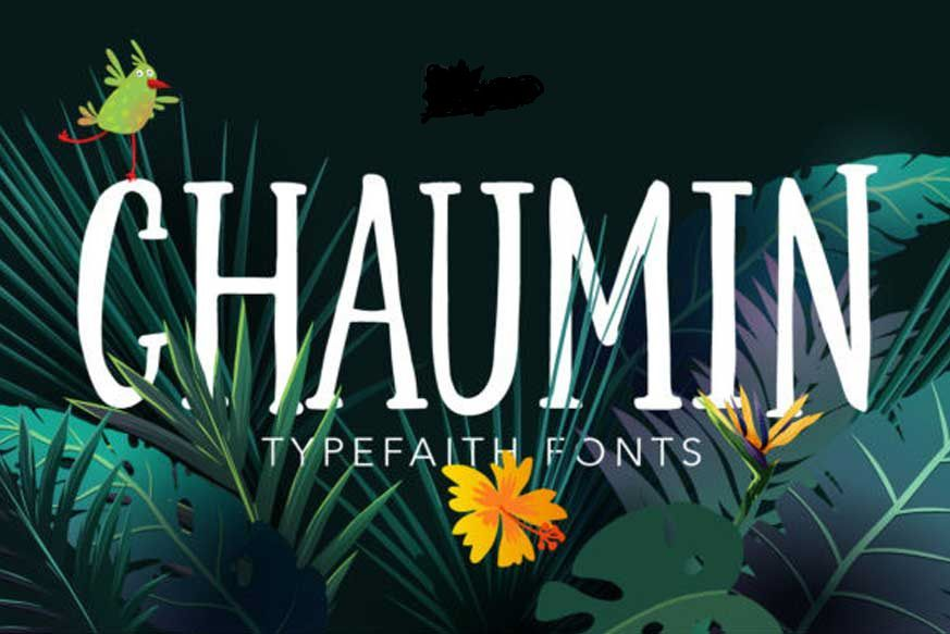 Chaumin Font-1