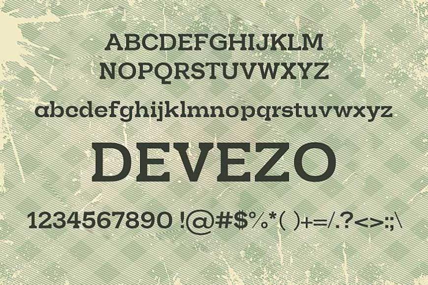 Devezo-Font-2