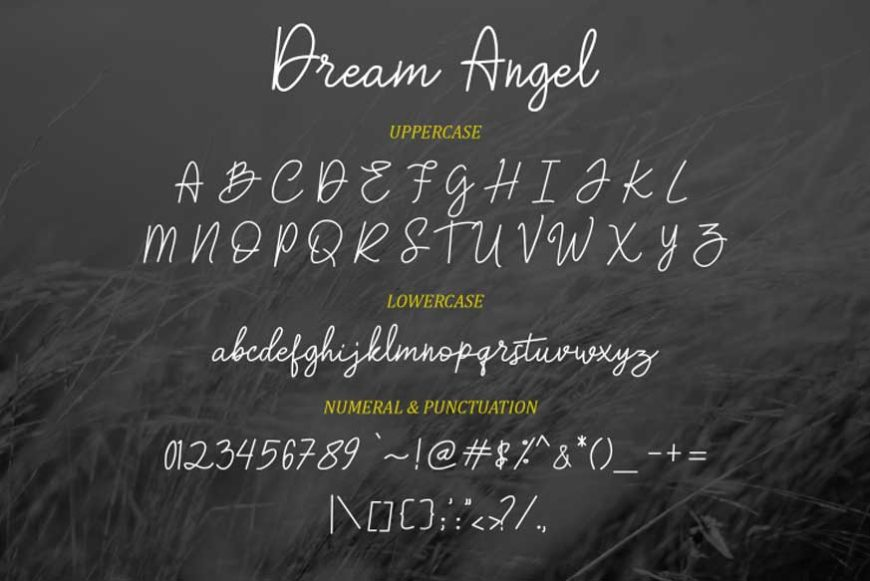 Dream-Angle-Font-3