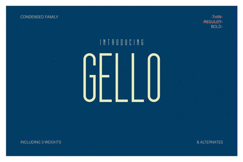 Gello Display Font-1
