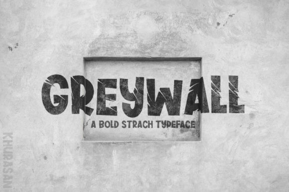 Greywall Font-1