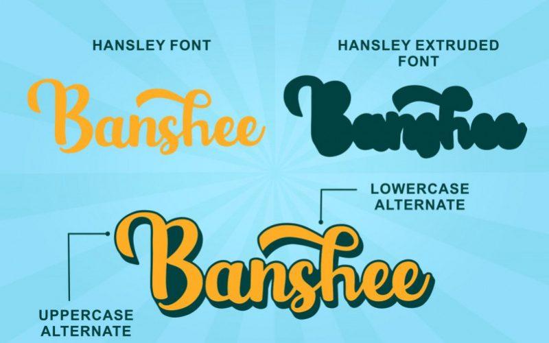 Hansley Script Font-2
