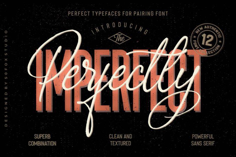Imperfecta Sans Font-1