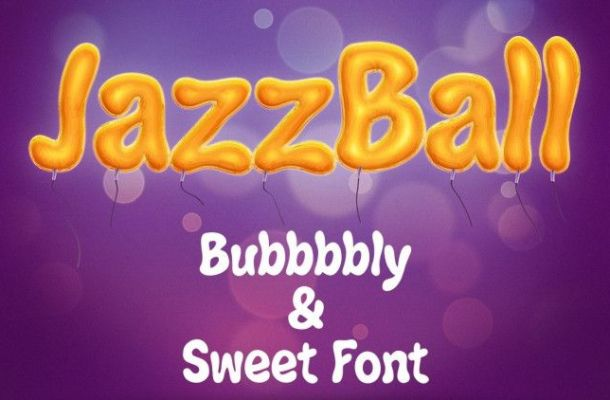 Jazz Ball Display Font