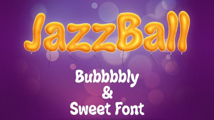 Jazz Ball Display Font-1