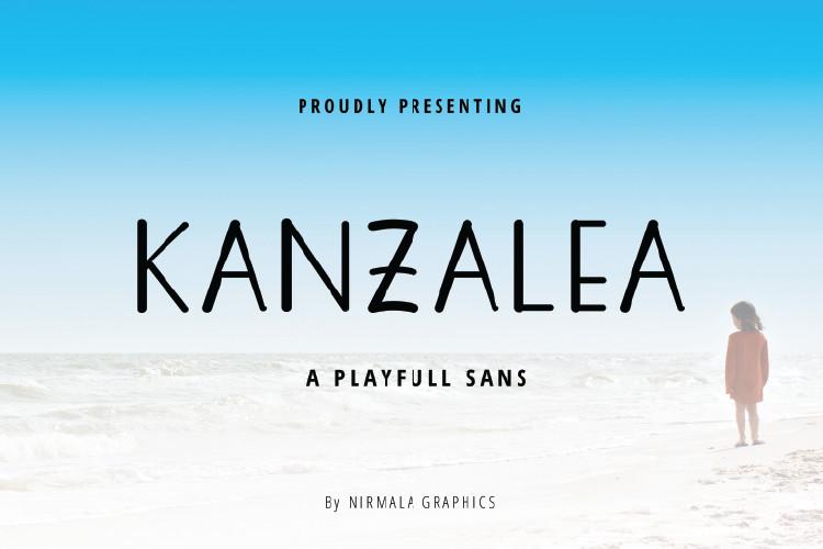 KANZALEA Handwritten Font-1