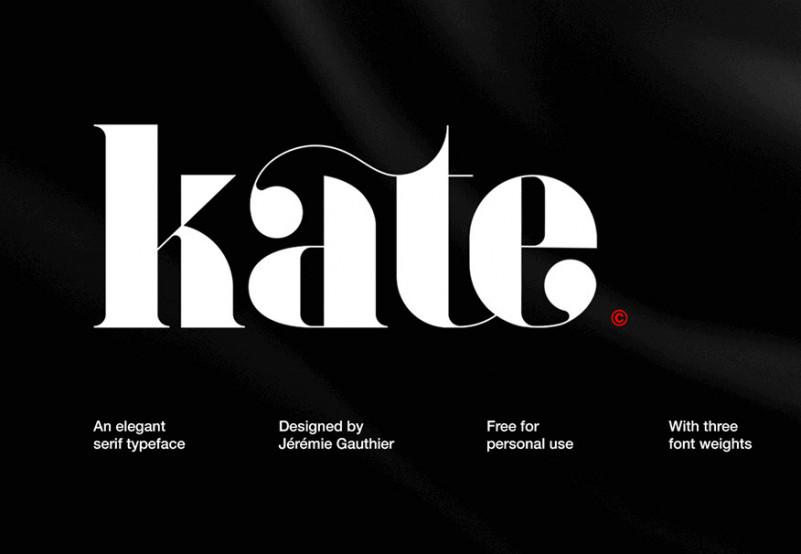 Kate Font Family-1