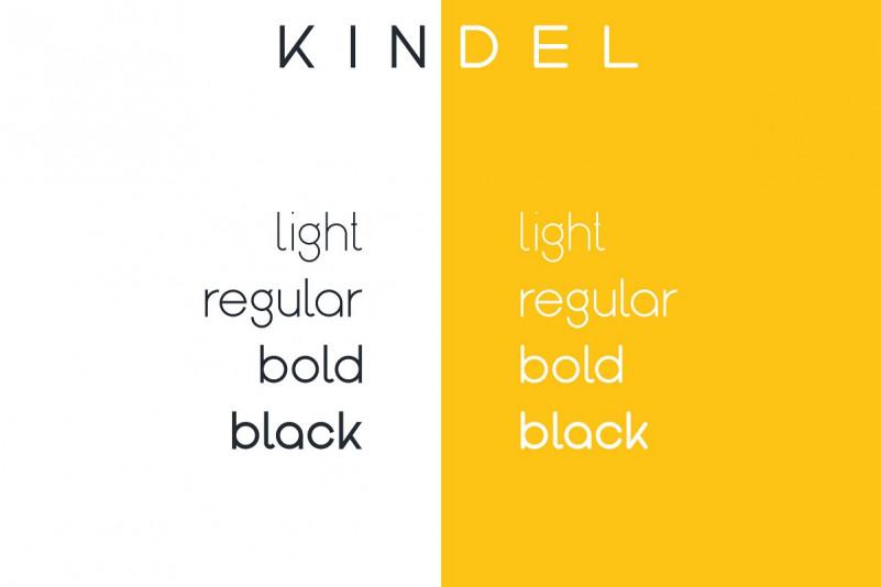 Kindel Sans Serif Font-2